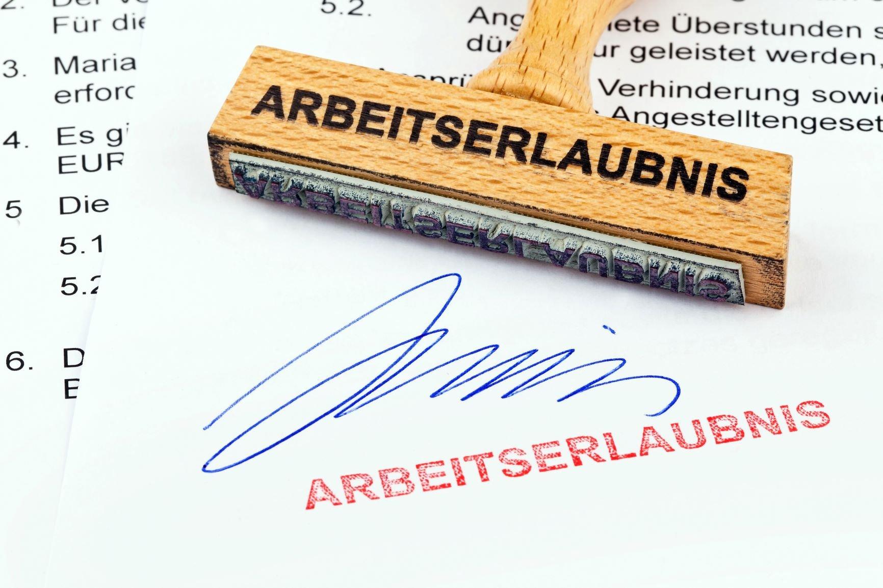 Arbeitserlaubnis in Deutschland
